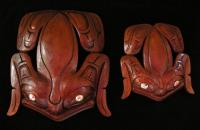 Frog (Natural Finish) -