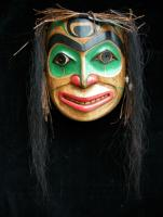 Smiling Warrior Mask