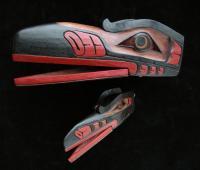 Raven Mask (Hamatsa Raven)