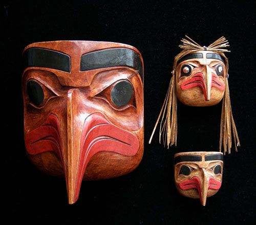 Eagle Mask (Totem Design)