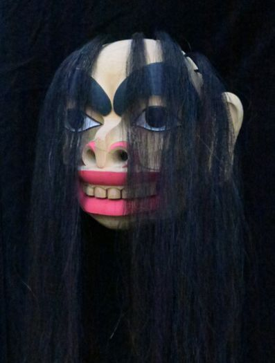 Gagiit Mask with Horse Hair -