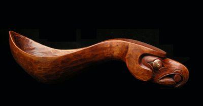 Potlach Spoon - Eagle