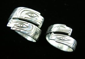 Eagle Wrap Adjustable Style Ring