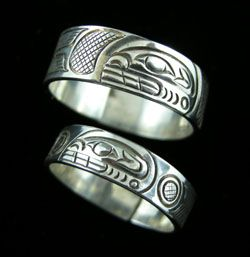 Killer Whale Band Ring