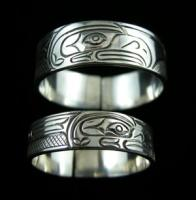 Eagle Band Ring