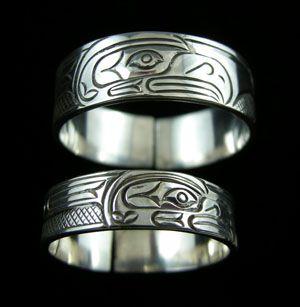 Eagle Band Ring