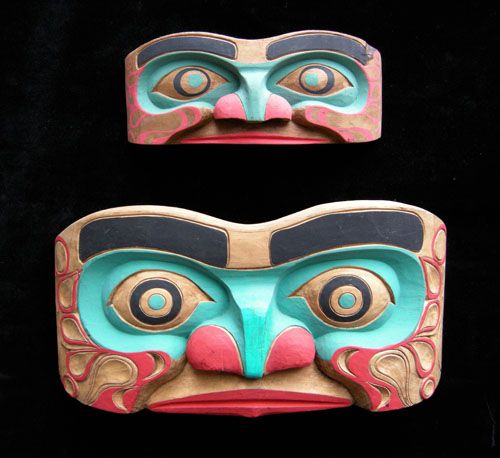 Human Face Panel Mask -